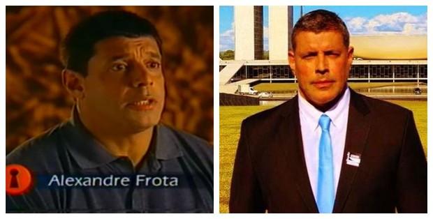 Antes e depois de Alexandre Frota (Foto: Reprodução de Vídeo | Reprodução do Instagram)