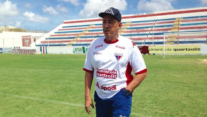 Nedo Xavier, técnico do Fortaleza  (Foto: Divulgação/Fortaleza)