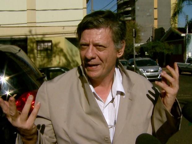 Pré-candidato pelo PT do B, Fernando Chiarelli deve cumprir prisão em regime semiaberto (Foto: Reprodução/EPTV)