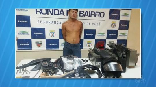 Homem suspeito de roubar motos para desmanche é preso no AM