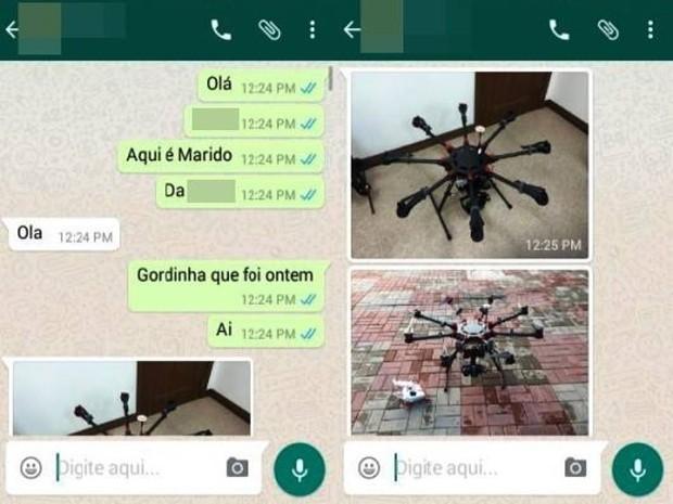 print, drone, rs (Foto: Reprodução/Whatsapp )