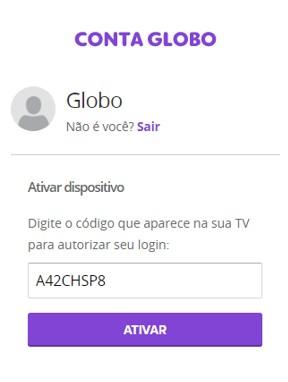 Ativação Smart TV 3 - Canais Globo (Foto: Canais Globo)