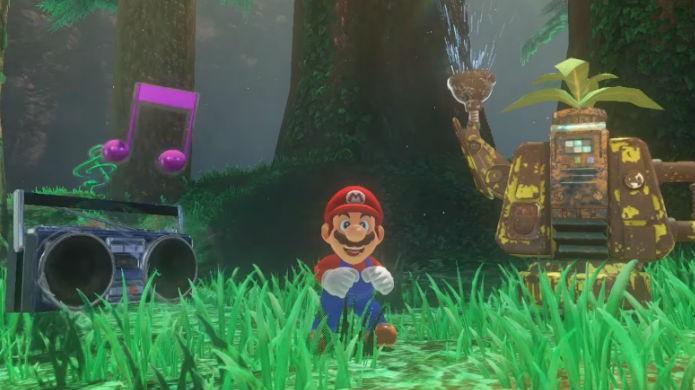 Super Mario Odyssey terá ares de sandbox (Foto: Divulgação/Nintendo)