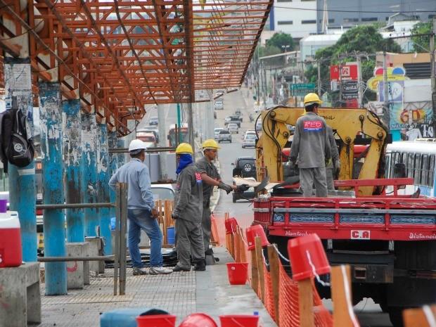 Antigas paradas do Expresso vão dar lugar às futuras paradas do BRS (Foto: Divulgação/Seminf)