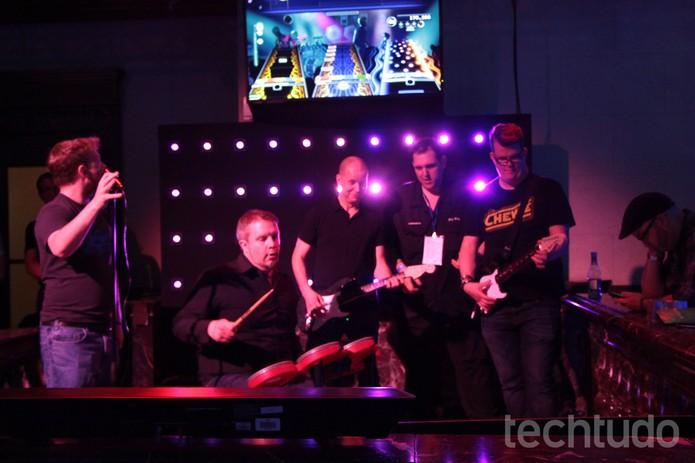 Rock Band 4 (Foto: Tais Carvalho / TechTudo)