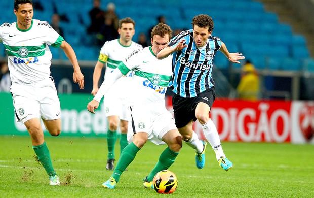 Elano jogo Grêmio contra Coritiba (Foto: Lucas Uebel / Site Oficial do Grêmio)
