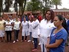 Trabalhadores de hospital indígena de MS paralisam serviço em protesto