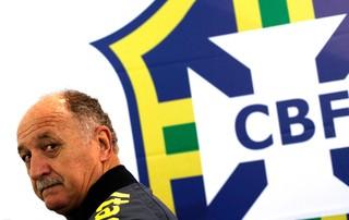 Felipão coletiva treino Seleção (Foto: Reuters)