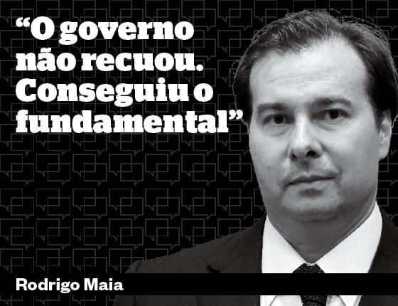 Debates Ajuste Contas Públicas Rodrigo (Foto: ÉPOCA)