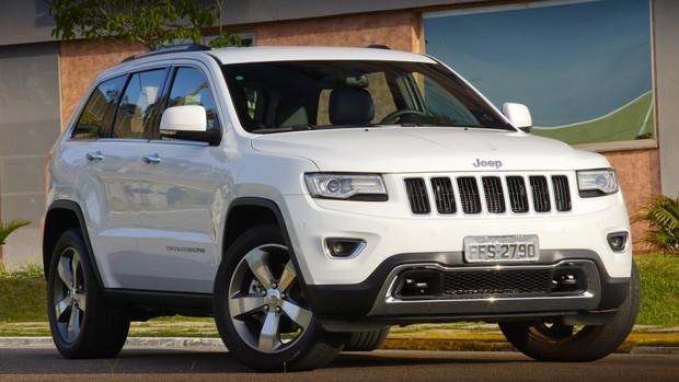 Galeria de fotos do Jeep Grand Cherokee Limited