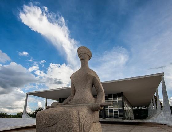O Supremo Tribunal Federal em Brasilia (Foto: Dorivan Marinho/Agência Senado)