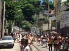 Carmelitas reúne 10 mil em 2º desfile (Henrique Coelho / G1)