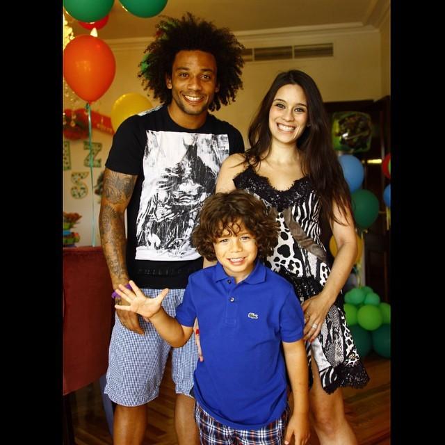 Marcelo comemora o aniversário do filho (Foto: Reprodução/ instagram)