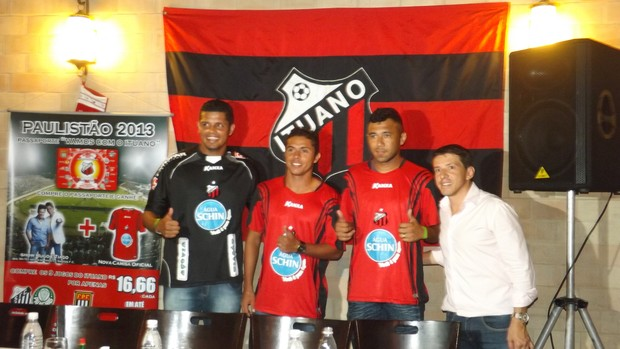 Anderson, Kleiton Domingues, Luciano, Juninho Paulista Ituano (Foto: Marcus Vinícius Souza/GloboEsporte.com)