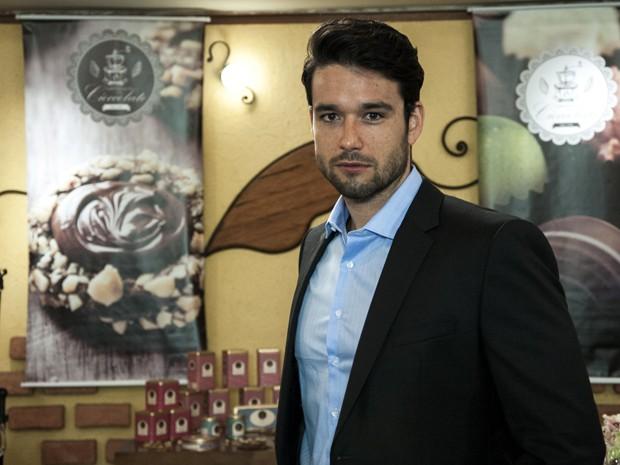 Sérgio Marone vive homem para lá de sedutor (Foto: Estevam Avellar / TV Globo)