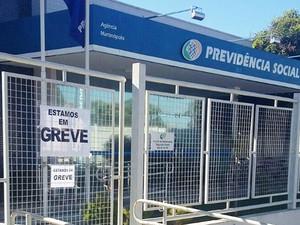 Agências do INSS de Pres. Prudente, Martinópolis e Rancharia paralisaram princialmente os atendimentos (Foto: Cedida)