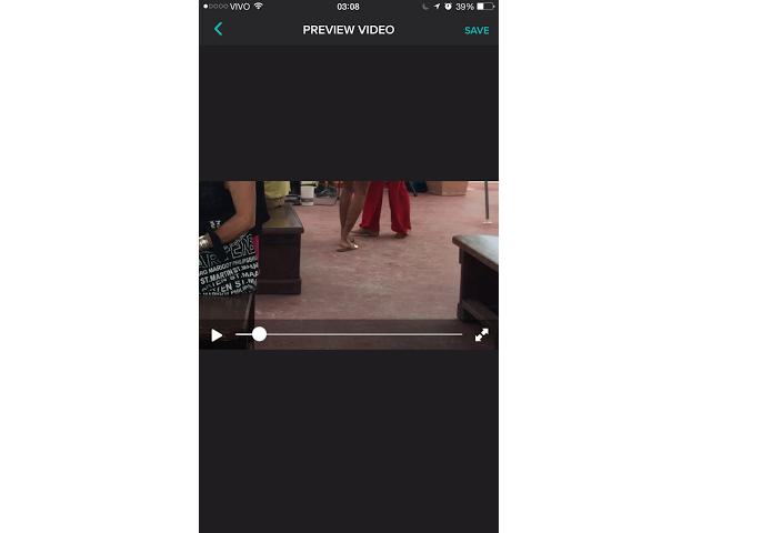 Você pode ver o vídeo antes de salvá-lo (Foto: Reprodução/Aline Jesus)
