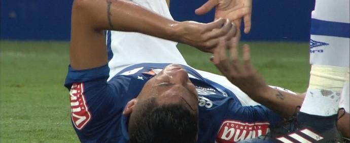 Diogo Barbosa; Cruzeiro (Foto: Reprodução/Premiere)
