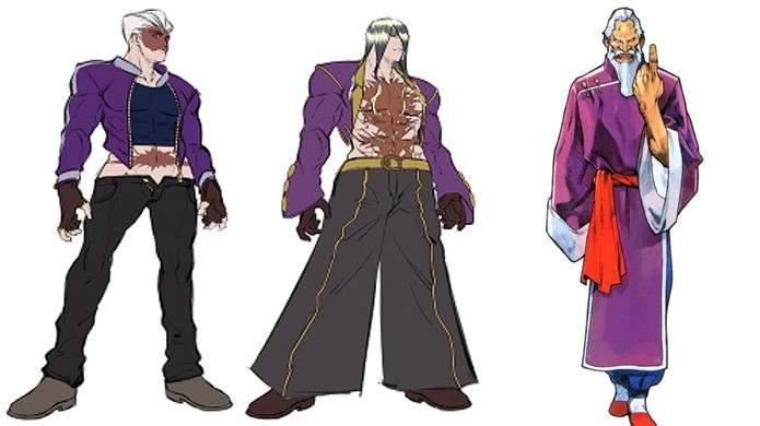 Gen seria substituído por um discípulo em Street Fighter 5, mas ele acabou cortado (Foto: Divulgação/Capcom)