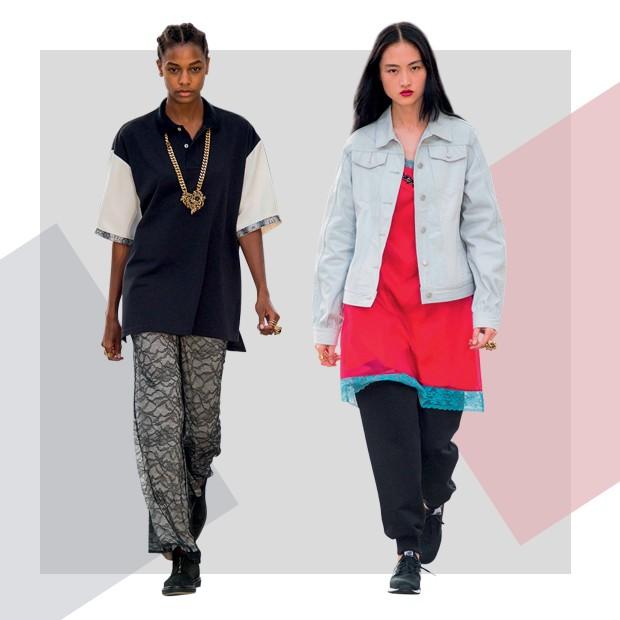 Koché: A neomarca fundada por Christelle Kocher, que trabalha também na Lemarié, traz toques couture ao street style (Foto: ImaxTree e Divulgação)