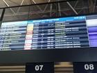 Neblina impede pousos e decolagens no aeroporto Afonso Pena, no Paraná
