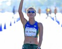 Érica de Sena é prata, e Caio Bonfim leva o bronze nos 20km da marcha