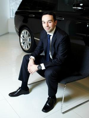 Gabriel Patini é o novo diretor de marketing e produto da Jaguar Land Rover (Foto: Divulgação)