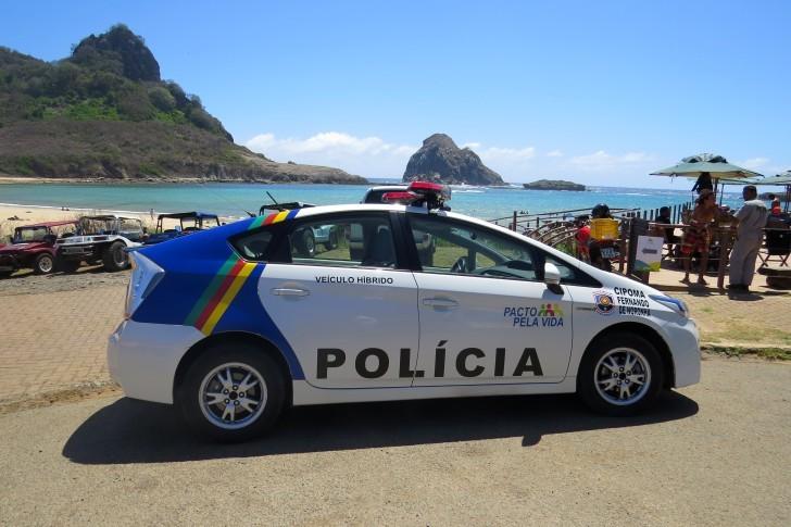 Carro híbrido PM Noronha