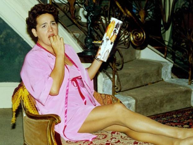 Claudia Jimenez interpretava Bina, garçonete que recebe uma herança e fica rica