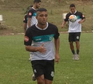 Marcos Nunes, atacante, Uberlândia (Foto: Gullit Castro)