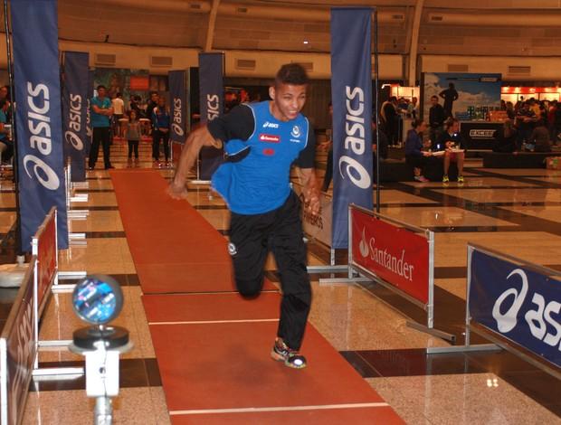 Expo Golden Four SP corrida eu atleta (Foto: Luma Dantas)