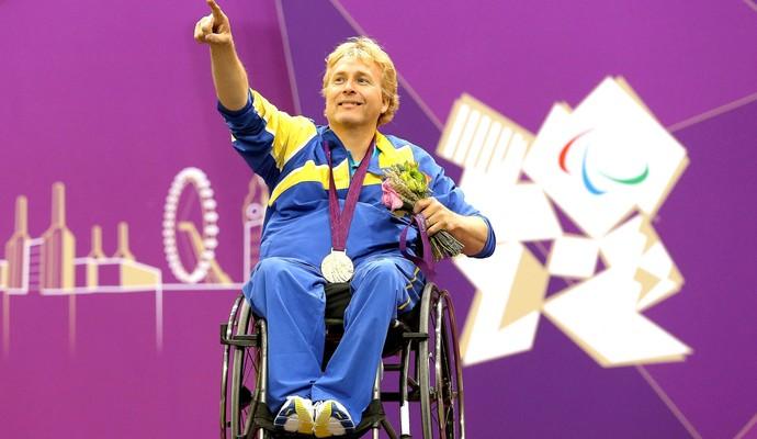 Jonas Jakobsson, Paralimpíadas 2012 (Foto: Getty Images)