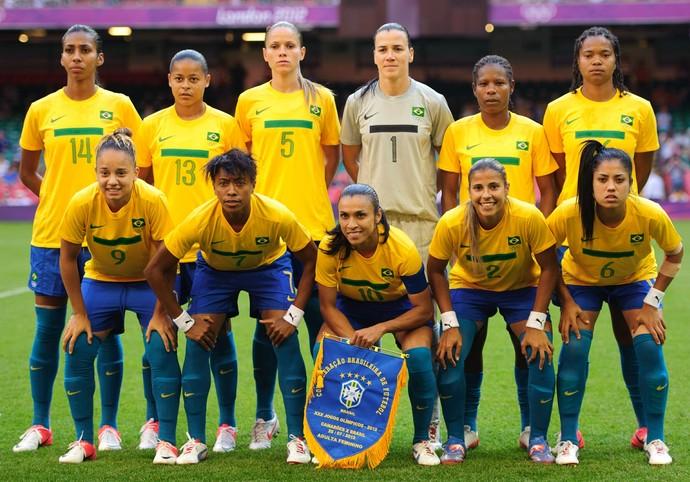 seleção feminina futebol 2012 (Foto: Getty Images)