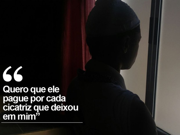 Adolescente foi torturada pelo namorado (Foto: Jomar Bellini/G1)