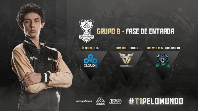 Team One está no Grupo B da Fase de Entrada do Mundial de League of Legends (Foto: Reprodução)