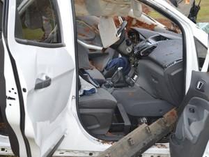 Prisão suspeito mortes Tenente Portela (Foto: Divulgação/Brigada Militar)