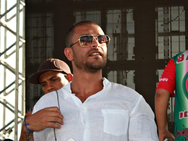 Sambas consagrados fazem parte do repertório do cantor Diogo Nogueira   (Foto: Camila Henriques/G1 AM)
