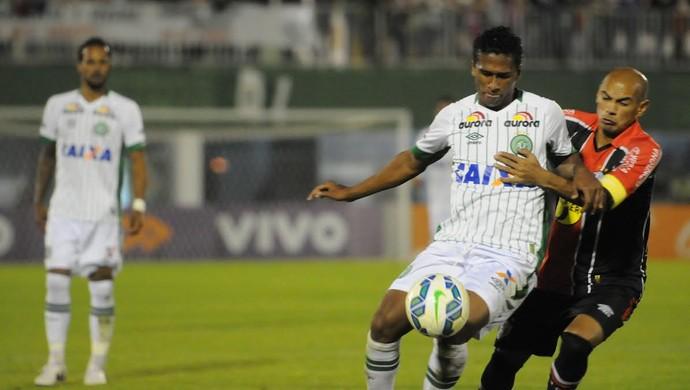 Abuda Marcelo Costa Chapecoense x Joinville (Foto: Sirli Freitas/Chapecoense)