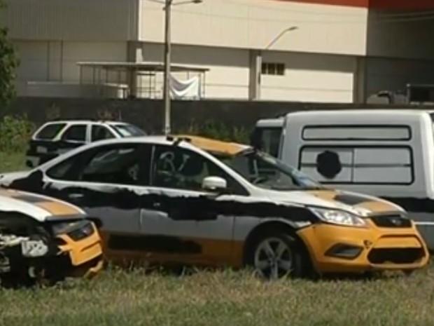 Polícias Militar e Civil realizam leilão de veículos em Governador Valadares (Foto: Reprodução / Inter TV Vales de Minas Gerais)