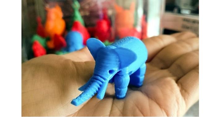 Filamento permite imprimir objetos com detalhes (Foto: Divulgação/TinyBoy)