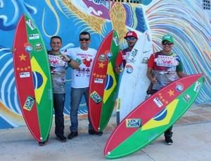 A equipe é composta pelo paraense Noélio Sobrinho e os cearenses Adilton Mariano, Marcelo Bibita e George Noronha. (Foto: Divulgação / Agência Pará)