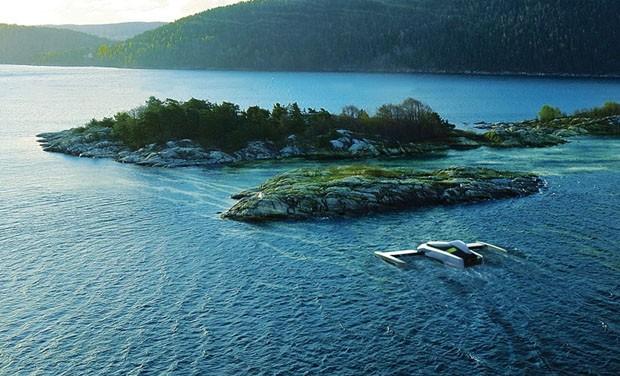 Robô remove algas tóxicas do mar para transformar em biocombustível (Foto: Divulgação)