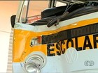Sem cinto, crianças se ferem após veículo escolar atingir casa, em Goiás
