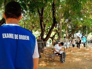 No RN, 1.709 estão inscritos para exame da OAB neste domingo (Foto: Divulgação/OAB RN)