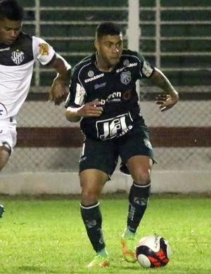 atacante Wellington Rato; da Caldense (Foto: Luciano Santos/ Mantiqueira)