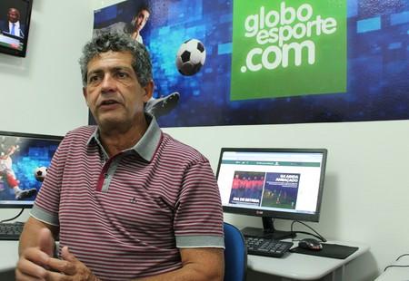 Clebel Cordeiro fala sobre a administração do Salgueiro (Foto: Amanda Franco )