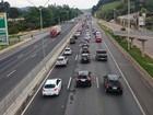 Rodovia Fernão Dias tem lentidão no sentido SP na volta do feriado
