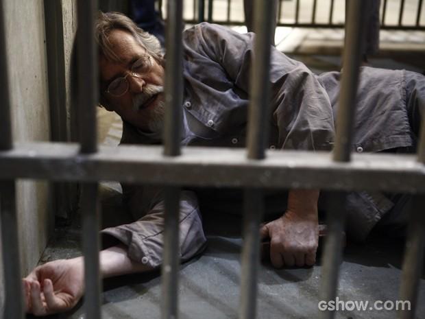 Suíço sofre enfarto após ler carta (Foto: Inácio Moraes/TV Globo)