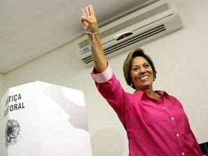 Rosalba Ciarlini (DEM) é eleita governadora do Rio Grande do Norte. (Foto: Raul Pereira / Futura Press)