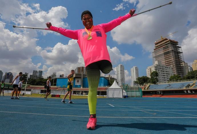 atletismo Rosinha (Foto: Marcelo Régua /CPB/MPIX)